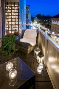 Beauty view design ideas for balcony apartment that make you cozy 18