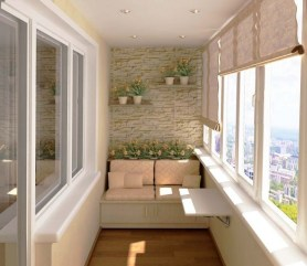 Beauty view design ideas for balcony apartment that make you cozy 40