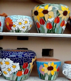 Flower pot decoration ideas that you can try in your home 05