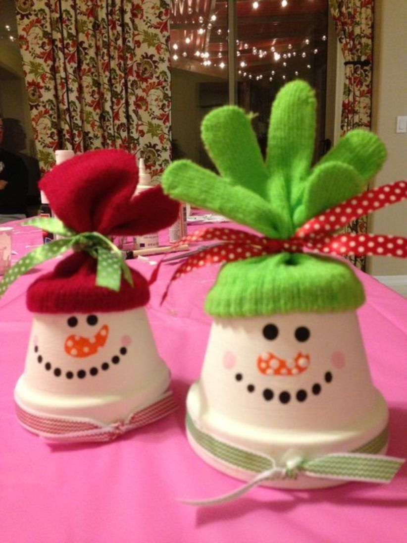 Flower pot decoration ideas that you can try in your home 07