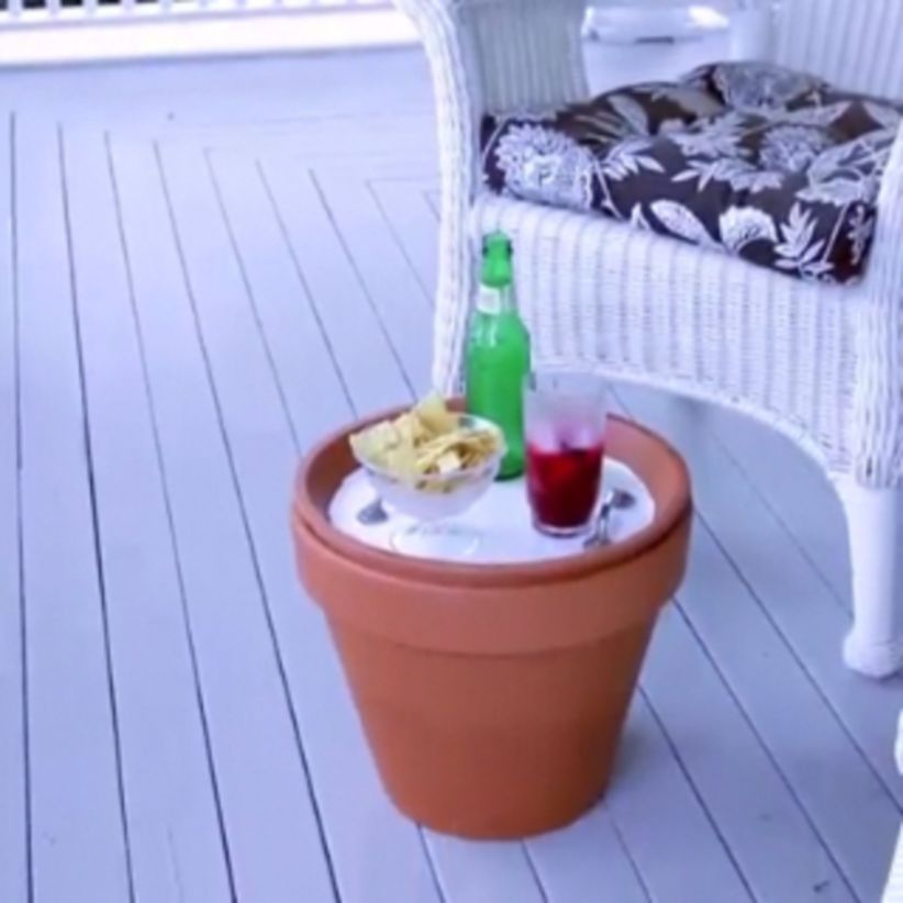 Flower pot decoration ideas that you can try in your home 09