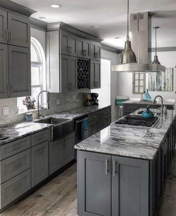 Modern kitchen design ideas you can try in your dream home 27