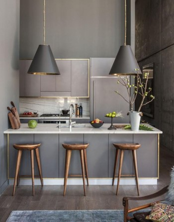 Modern kitchen design ideas you can try in your dream home 38