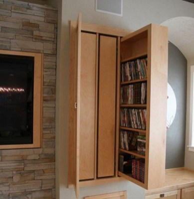 Smart hidden storage solution design that you can try in your home 06