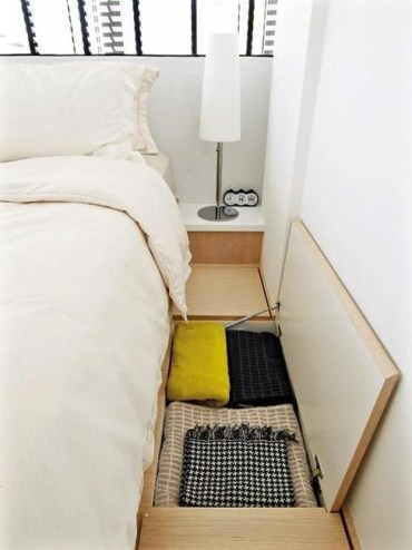 Smart hidden storage solution design that you can try in your home 21