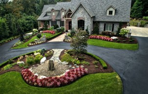 The best and stunning front yard design 09