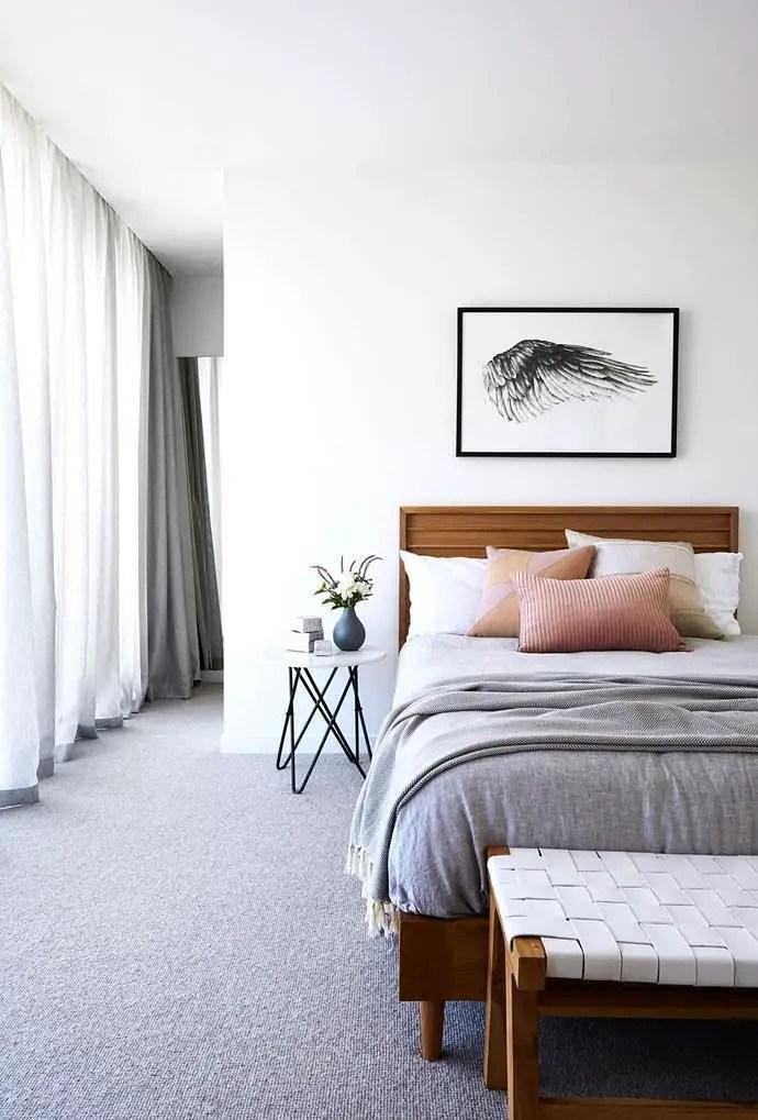The best design of the carpet floor bedroom that inspiring 44