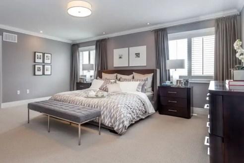 The best design of the carpet floor bedroom that inspiring 46