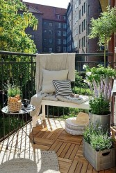 The best mini bar design ideas in balcony apartment 01