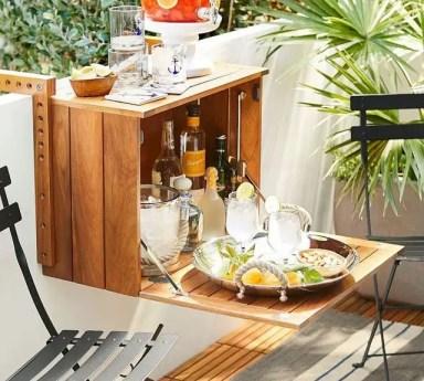 The best mini bar design ideas in balcony apartment 19