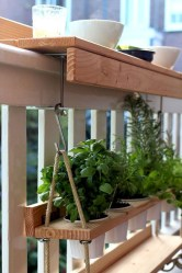 The best mini bar design ideas in balcony apartment 23