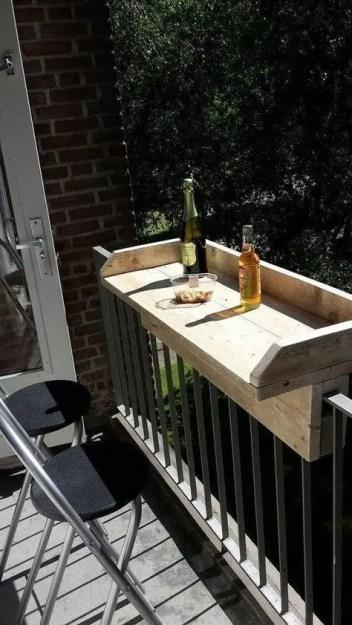 The best mini bar design ideas in balcony apartment 26