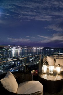The best mini bar design ideas in balcony apartment 33