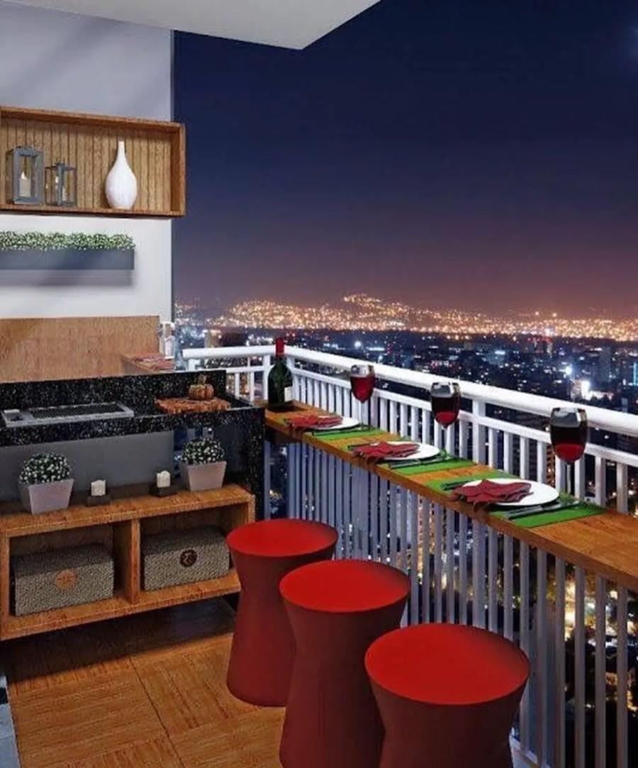 49 The Best Mini Bar Design Ideas in Balcony Apartment ...
