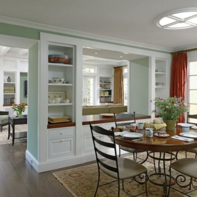 The best small dining room design ideas that you can try in your homel 11