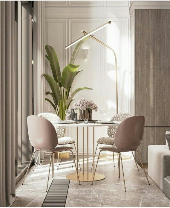 The best small dining room design ideas that you can try in your homel 22