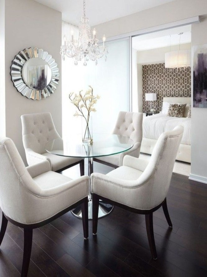 The best small dining room design ideas that you can try in your homel 27