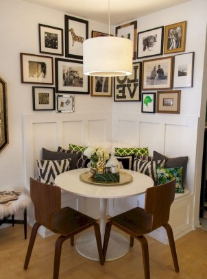The best small dining room design ideas that you can try in your homel 28