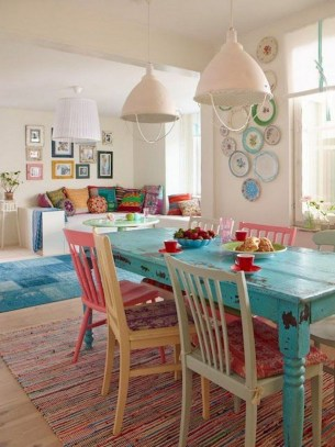 The best small dining room design ideas that you can try in your homel 29