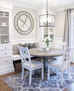 The best small dining room design ideas that you can try in your homel 35