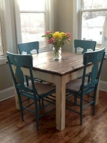 The best small dining room design ideas that you can try in your homel 40
