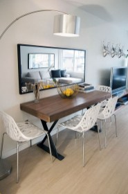 The best small dining room design ideas that you can try in your homel 44