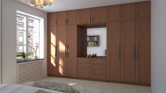 Wardrobe design ideas that you can try in your home 40
