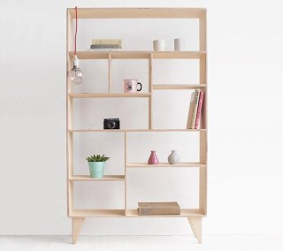 Wooden cabinet design ideas for book diy that you can make in your home 01