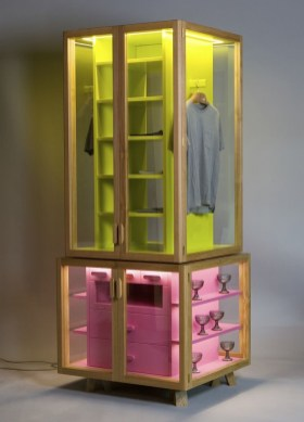 Wooden cabinet design ideas for book diy that you can make in your home 08