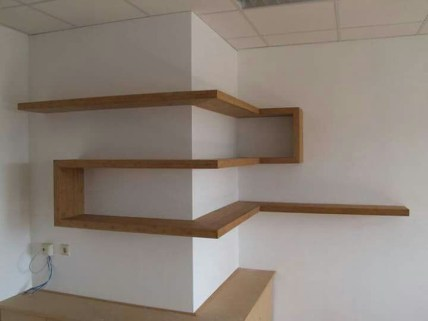 Wooden cabinet design ideas for book diy that you can make in your home 20