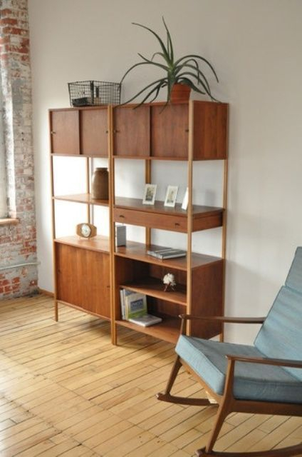 Wooden cabinet design ideas for book diy that you can make in your home 30