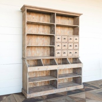 Wooden cabinet design ideas for book diy that you can make in your home 33