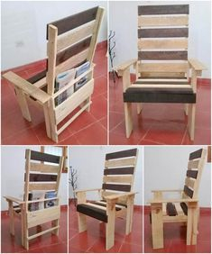 Diy chair pallet design ideas taht you can try 23