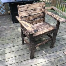 Diy chair pallet design ideas taht you can try 54