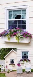 Exterior decoration ideas with flower in window 10