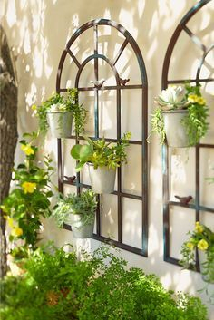 Exterior decoration ideas with flower in window 11