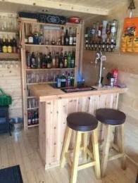 Inspiring pallet mini bar design ideas 14