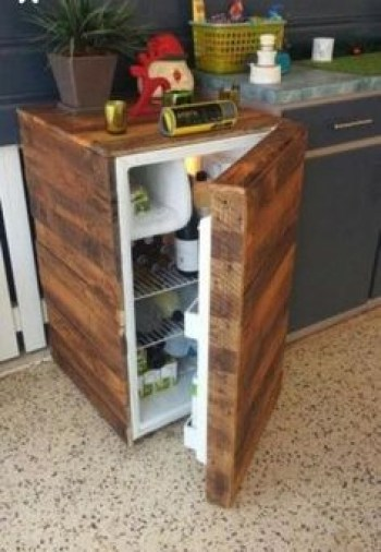 Inspiring pallet mini bar design ideas 15