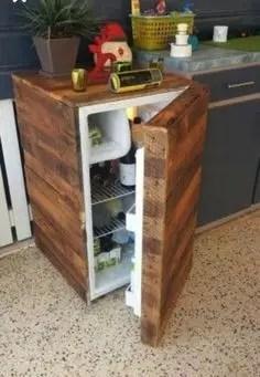 Inspiring pallet mini bar design ideas 15