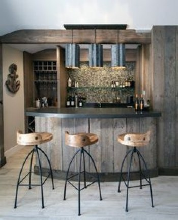 Inspiring pallet mini bar design ideas 53