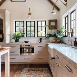 Wood kitchenset design ideas that you can try 20