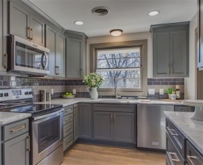 Wood kitchenset design ideas that you can try 32
