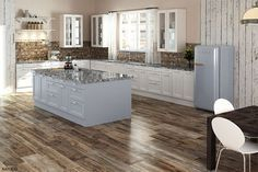 54 Wood Kitchen Set Design Ideas That You Can Try