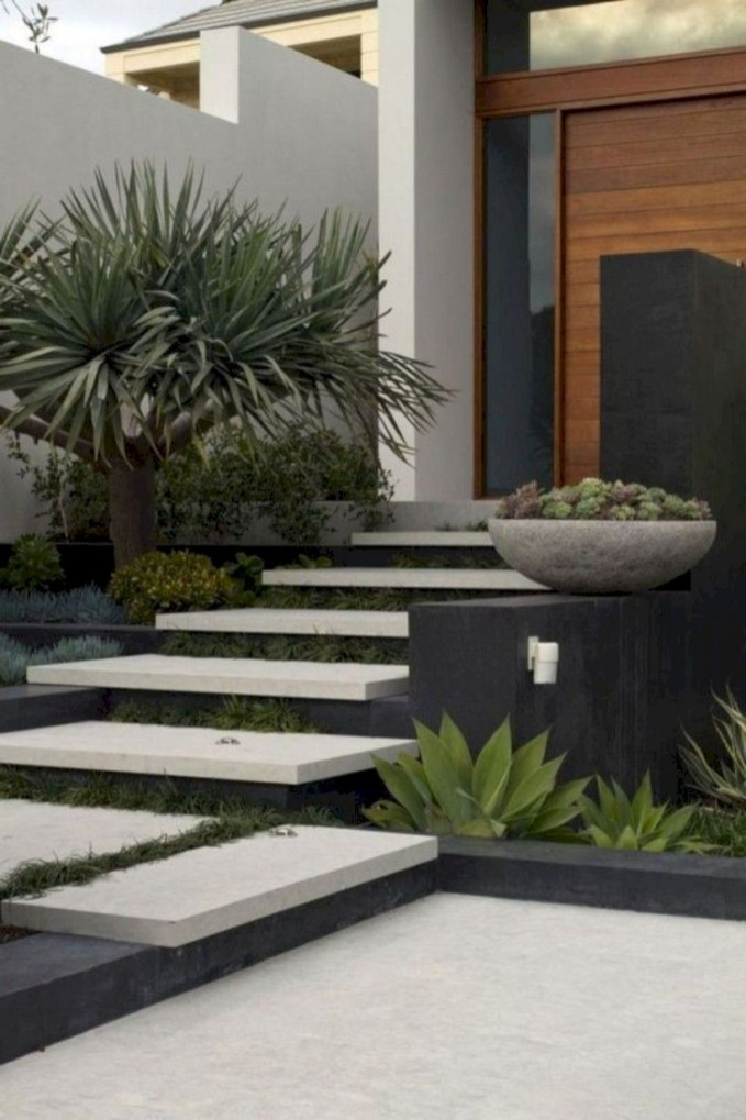 Front yard design ideas on a budget 07