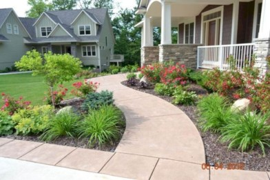 Front yard design ideas on a budget 26