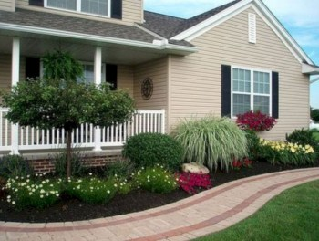 Front yard design ideas on a budget 47