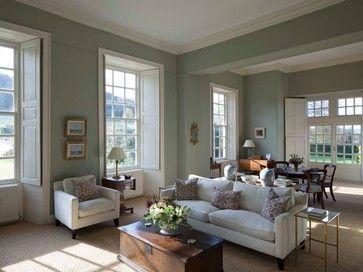 Living room gray wall color design ideas 18