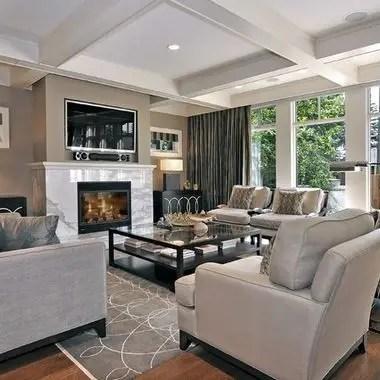 Living room gray wall color design ideas 31