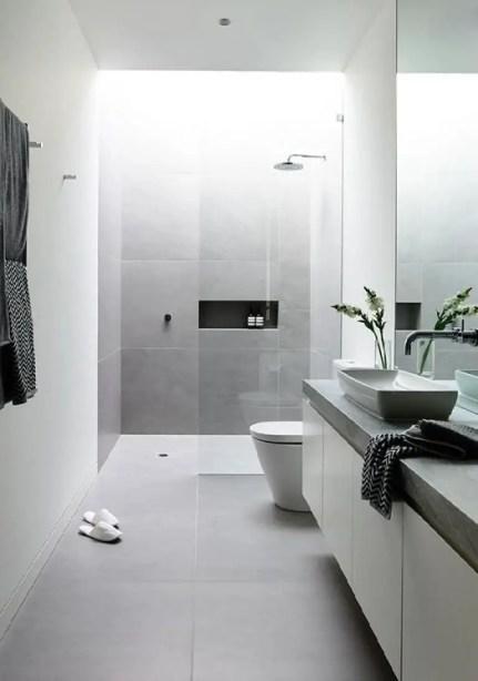 Minimalist bathroom design ideas 19