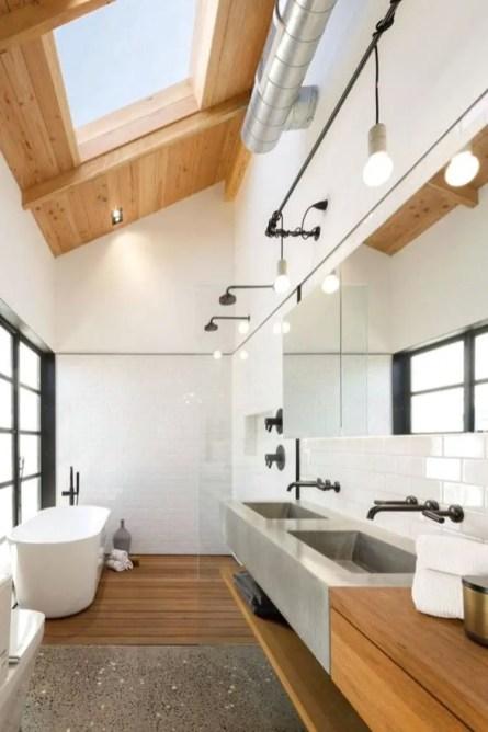 Minimalist bathroom design ideas 30